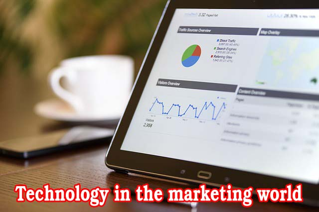 Technology in the marketing world